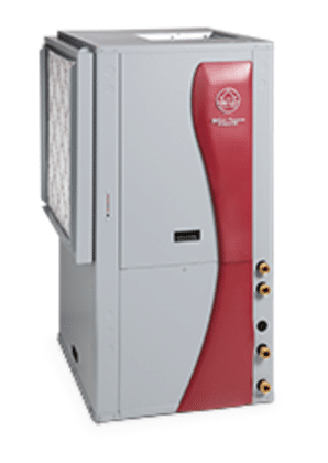 Synergy3D heating, cooling and hot water geoexchange heat pump