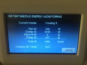 WaterFurnace 7 Series Energy Monitoring