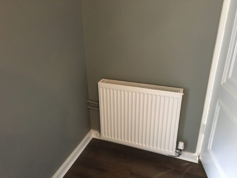 Retrofit geoexchange to an existing home to reduce energy use