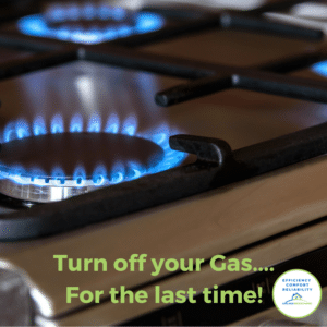 Turn off your gas... For the last time with Adelaide Geoexchange