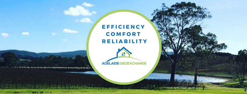 Adelaide Geoexchange motto is Efficiency, Comfort and Reliability when designing hydronic and geoexchange systems in South Australia