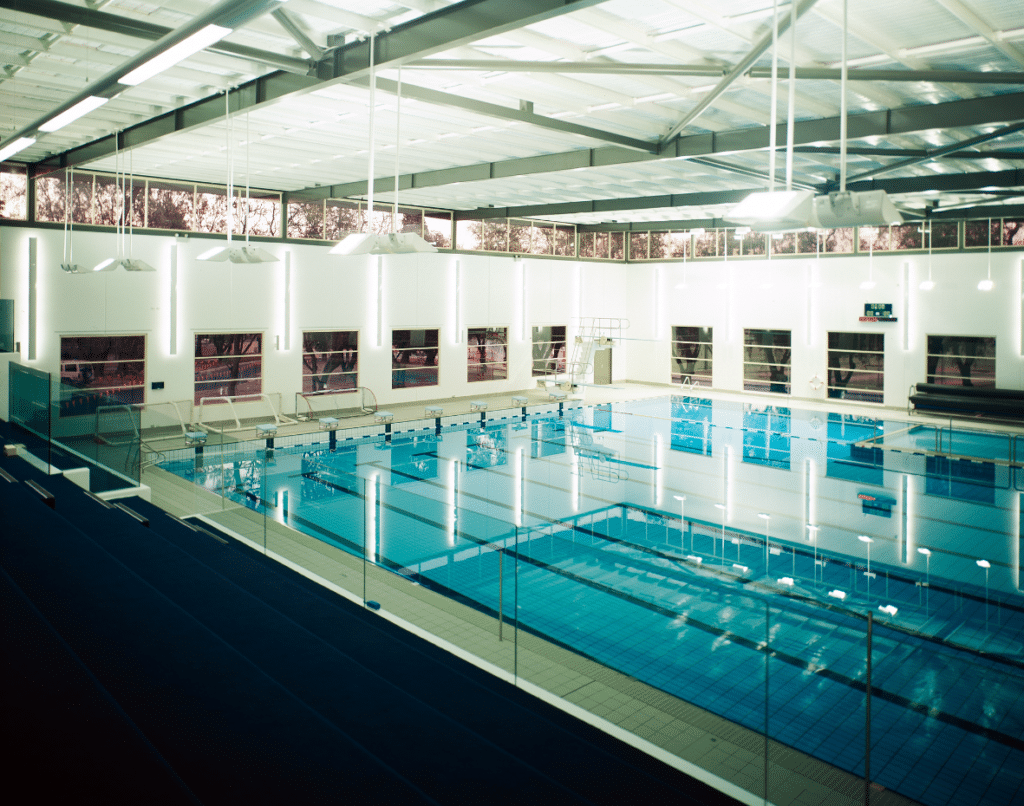 St Peters College Sports Centre Adelaide Swimming Pool is heated with a Commercial Geoexchange System