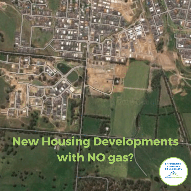 New Housing Development with NO gas!
