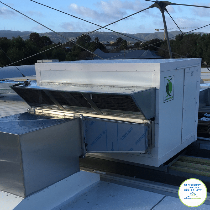 Commercial Heat Recovery Ventilation System at St Peters College Adelaide