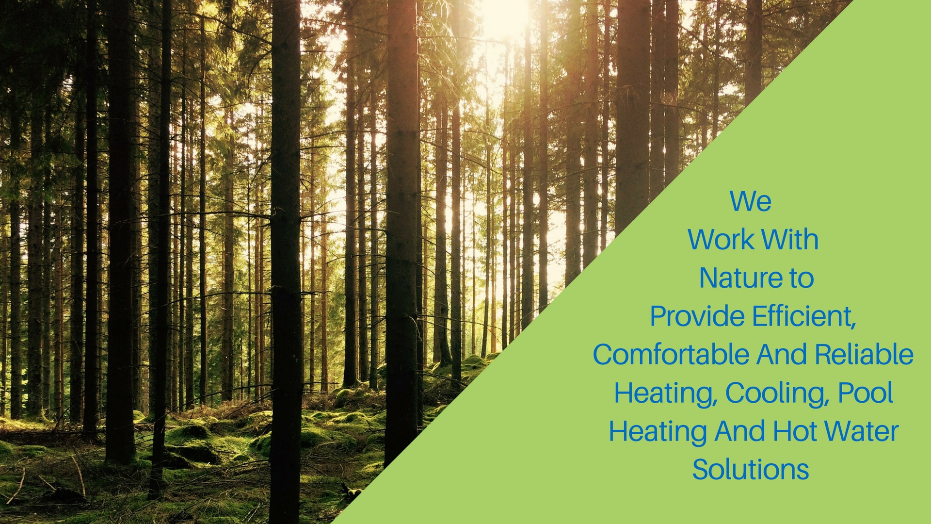 Adelaide Geoexchange provides solutions that nature would approve of.